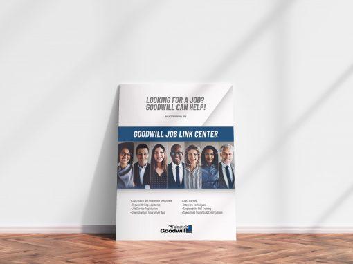 Job Link Poster Design