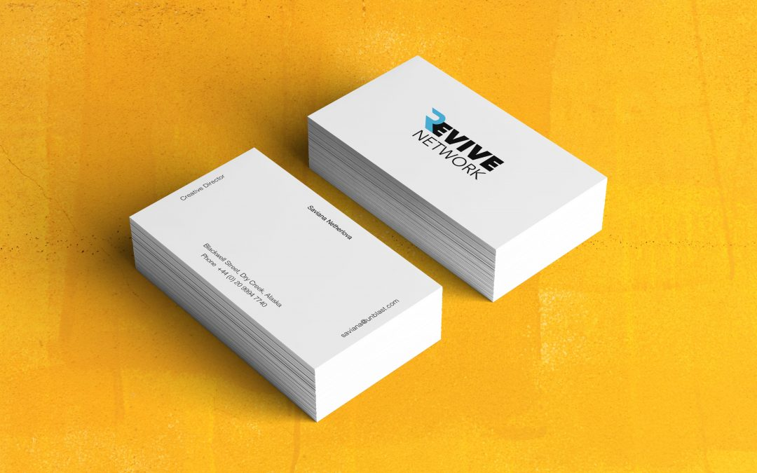 Revive Network Business Card